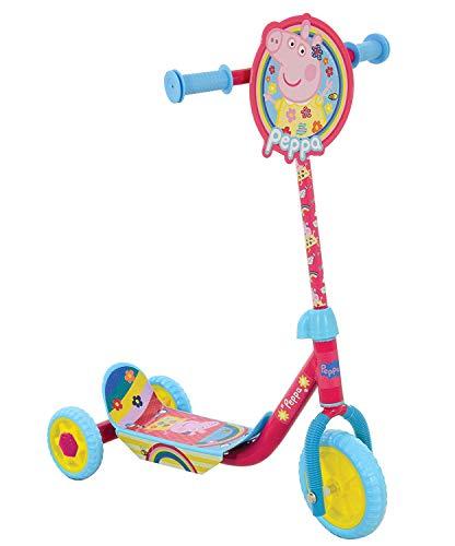 Mädchen Peppa Pig Dreirad Roller verstellbar rutschfest Spielzeug für draußen