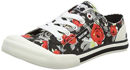 Jazzin, Sneakers Basses Femme - Blanc (Cadet White), 36 EURocket Dog