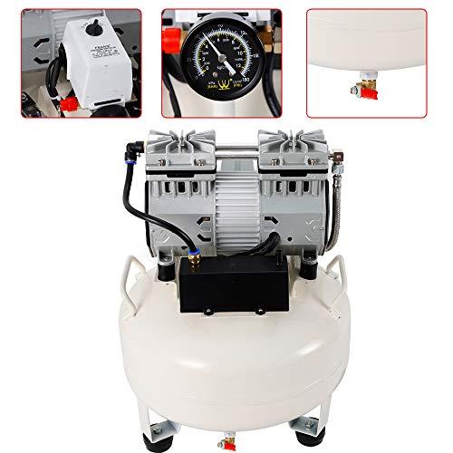 Compressore d'aria Compressore 30L Silenzioso senza olio- Silenzioso silenzioso