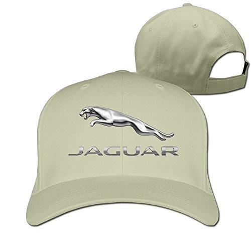 1437a95408daa hittings mkcook Unisex Jaguar Logo Snapback Caps Peaked Caps Béisbol Caps  Hats Natural