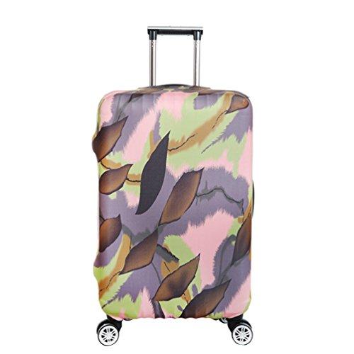 YiJee Elastic Covers Koffer Kreativ Drucken Abdeckung Für Beutel 18-32 Zoll Wie Das Bild 1 S (Kreative Outlet)