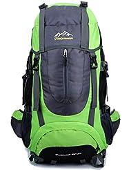 KIPTOP®-Mochila de senderismo Profesional impermeable para viaje (60+5L)
