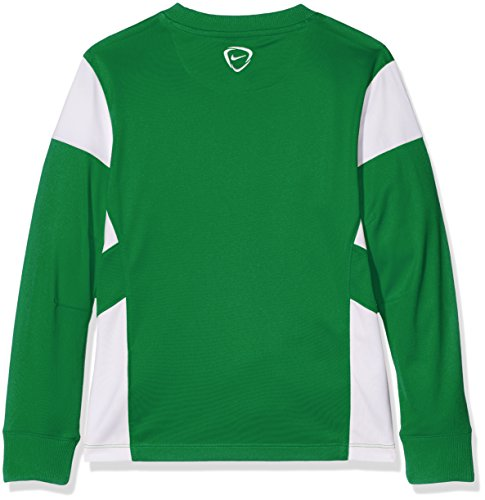 Nike Long Sleeve Top Yth Academy14 Midlayer Pine Green/White