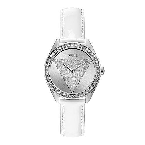 Guess orologio analogico quarzo donna con cinturino in pelle w0884l2