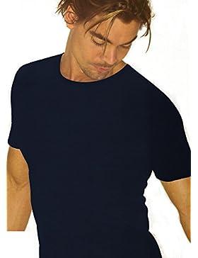 3 t-shirt girocollo uomo filo di