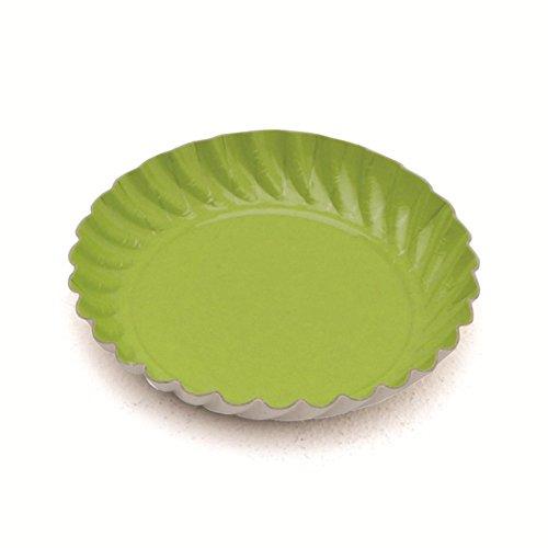 Garcia de pou 100 unité Mini Plaque en boîte, 5.5 cm, Carton, Vert, 30 x 30 x 30 cm