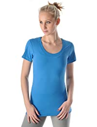 PURE LIME Scoop Tee t-shirt shirt à manches courtes femme