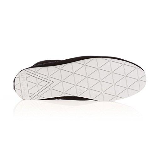 Chaussure Eleven Paris Baswhite Noir Noir