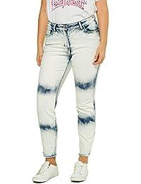 f46232c931257 Studio Untold Women s Plus Size Moonwashed Skinny Jeans 715679