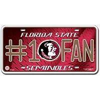 Florida State Seminoles No.1 License Plate -