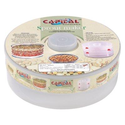 Ophion Mythologie de la capitale de graines Germoir Plastique alimentaire sans BPA Réservoir à petite taille Sprout Maker