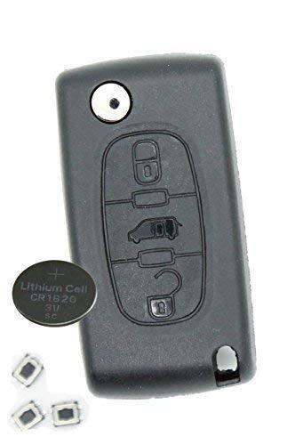 Price comparison product image HIVE Citroen Berlingo or DISPATCH van 3 Button remote key REFURBISH fix kit