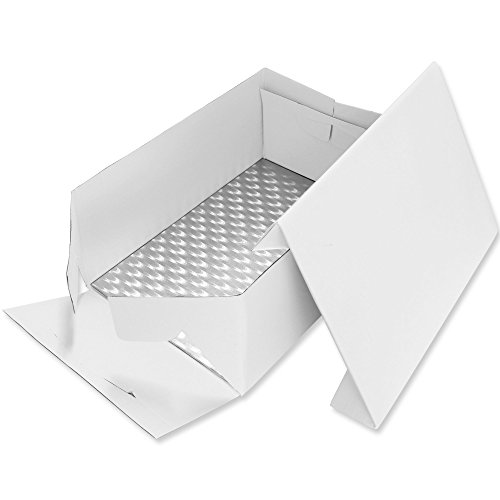 "PME Oblong Cake Baking Box & Support Card Board 431 x 330mm (17"" x 13\"" Inch)"
