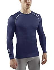 Sub Sports Men'Hitze kühl bleibende Semi s Compression Long Sleeve Base Layer
