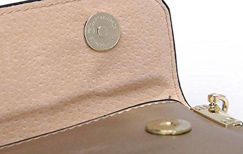 Signore Con Multiuso Bag In Pelle Con Catena Black