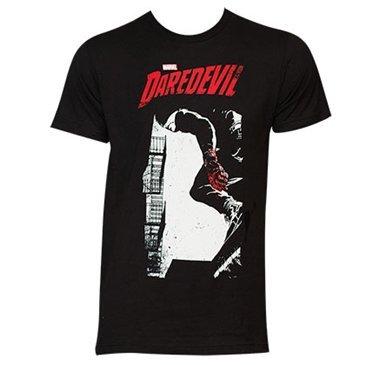 Daredevil - Cocina integral de la camiseta de los hombres del infierno, Small, Black