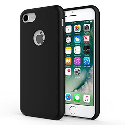 MoKo iPhone 8 / 7 Case - Slim Fit Shockproof Liquid Silicone Gel Rubber Protective Case Soft Touch Back Cover for Apple iPhone 8 / 7,