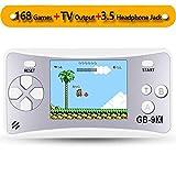Die besten Handheld-Spiele - ZHISHAN Handheld Spielkonsole Retro Tragbare Spiele Konsolen inkl Bewertungen