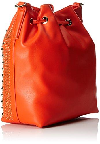 Trussardi 75bp8253, Borsa a secchiello Donna 27x32x15 cm (W x H x L) Arancione