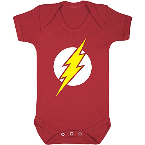 The Flash Baby Vest. (0-3 months)