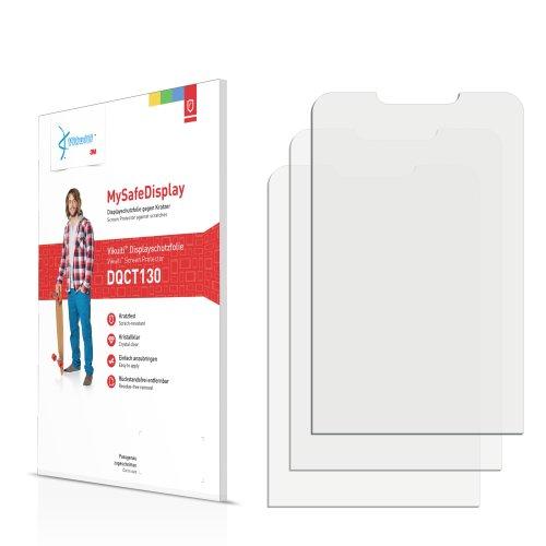 3x Vikuiti MySafeDisplay Displayschutzfolie DQCT130 von 3M passend für Samsung GT-M3200