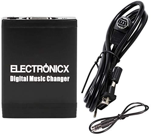 Electronicx Elec-M06-JVC Electronicx Digitaler Musik Adapter für USB, MP3, AUX, SD CD-Wechsler Autoradio MP3-Player Auto