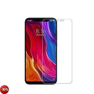 QULLOO Xiaomi Mi 8 Pellicola Vetro Temperato Screen Protector 2 Packs Vetro Temprato Trasparente ad Alta Definizione con Pellicola Anti-graffio per Xiaomi Mi8