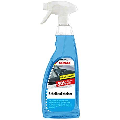 SONAX ScheibenEnteiser (750 ml) sekundenschnelles enteisen von Scheiben ohne kratzen und eine rundum klare Sicht im Winter | Art-Nr. 03314410