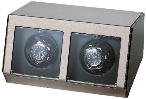 raoul-u-brown-watch-winder-ferrum-style-for-2-watches-watchwinder-grey-aluminium-casing