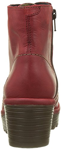FLY London Yarn772fly, Bottes Femme Rouge (Red)