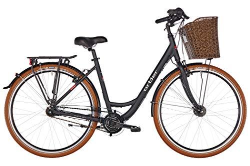 ORTLER Monet Damen schwarz matt Rahmenhöhe 50cm 2019 Cityrad