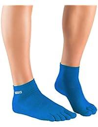 Knitido Track & Trail Ultralite Fresh Chaussettes à doigts, coton, Coolmax®