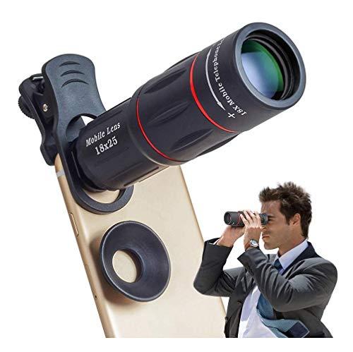 HAMISS Telefon lente cámara universal 18X Telescopio