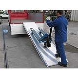 Disset Odiseo LEO40265 Auffahrrampe für LKW, erhöhte Bereiche, 2600 mm x 690 mm/750 mm x 80 mm