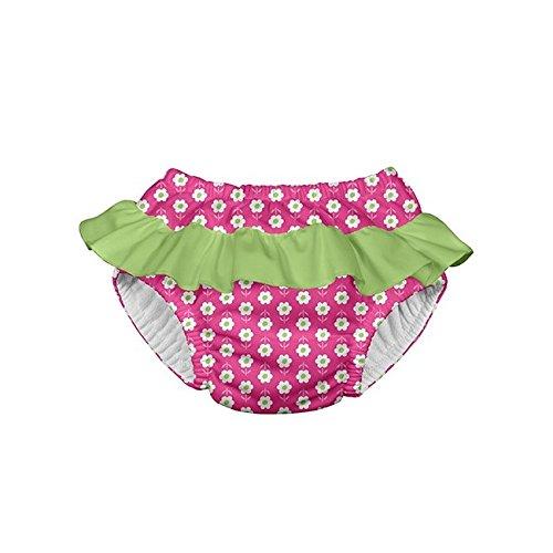 Preisvergleich Produktbild i play. 711053-204-43 Schwimmwindel Rüschen 6-12 Monate, Daisy, hot pink