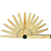 FORMAT 44850020 Pirinç (Non-manyetik) sentil takımı 20 parçalı 100 mm / 0,05-1,0 mm