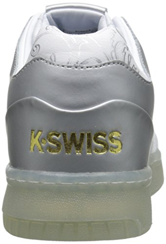 K-Swiss Uomo zeppa White/Silver