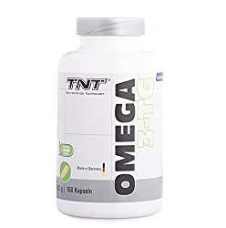 89fa344750d8b TNT True Nutrition Technology أوميغا 3 كبسولات عالية الجرعة - زيت السمك  النقي مع وكالة حماية
