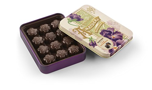 Bombones sin gluten de chocolate 70% cacao y naranja AMATLLER (4 cajas de 72 gr)