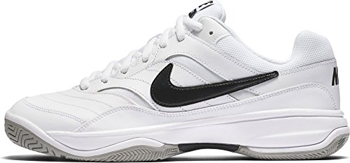 Nike Court Lite Scarpe da Tennis Uomo, Bianco (White/Black/Medium Grey 100) 42 EU