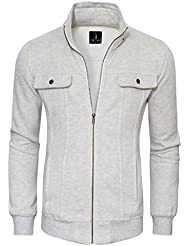 Tom's Ware Blouson-Zippe col Convertible-Hommes