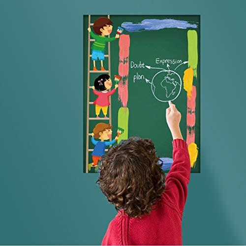 Green Board Wandaufkleber Für Kinder Zimmer Inneneinrichtung Aufkleber Kinder Kreide Graffiti Wandbilder Vinyl ()