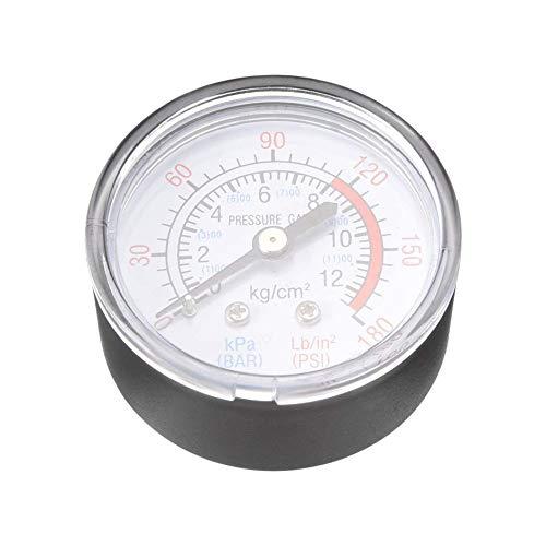 Agger 1/4 BSP compresor de Aire Piezas Indicador de presión de presión de precisión de medición...