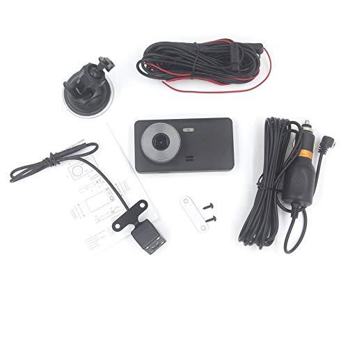 VCB 3Ch Driving Recorder On-Board-Verkehrs-Videorecorder HD-Kamera 170 Grad - Schwarz (Hd-videorecorder Recorder)
