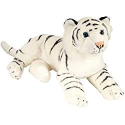 Wild Republic Tigre de Peluche, Color Blanco, 40 cm (12766)