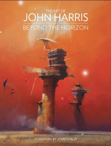 ART OF JOHN HARRIS BEYOND THE HORIZON HC