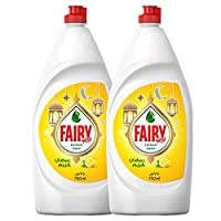 Fairy Lemon Dish Washing Liquid Soap Dual Pack 750ML, Special Offer