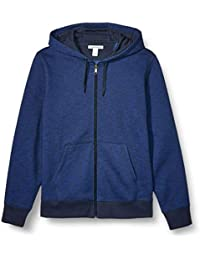 Amazon Essentials - Full-Zip Hooded Fleece Sweatshirt, Fashion-Sweatshirts Uomo