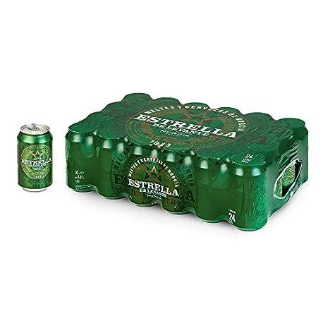 Estrella Levante Cerveza Caja de 24 Latas x 330 ml Total 7 92 L