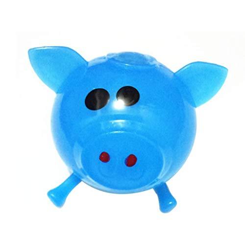Mitlfuny Kawaii Langsam Dekompression Creme Duftenden Groß Squishy Spielzeug Squeeze Spielzeug,1 stücke Jello Schwein Nette Anti Stress Splat Wasser Schwein Ball Vent Spielzeug Venting klebrig (Schwein-kostüm-3-6 Baby Monate)